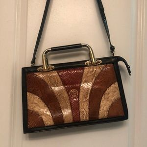 BEAUTIFUL VINTAGE LEATHER BAG
